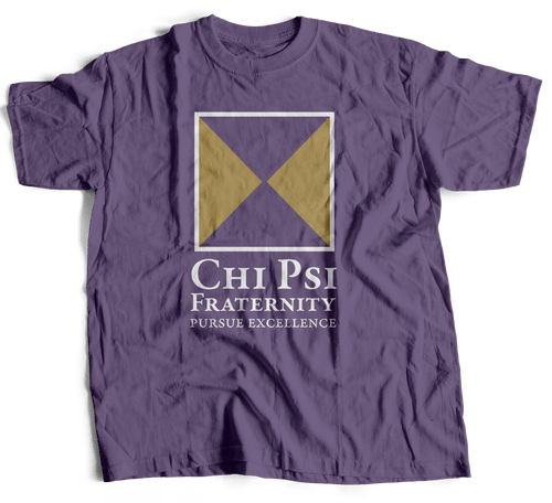 Chi Psi | Short Sleeve Tee | Alfred (395)
