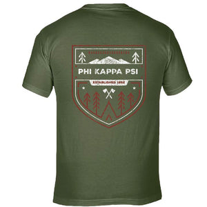 Phi Kappa Psi | Short Sleeve Pocket Tee | Oliver (392)