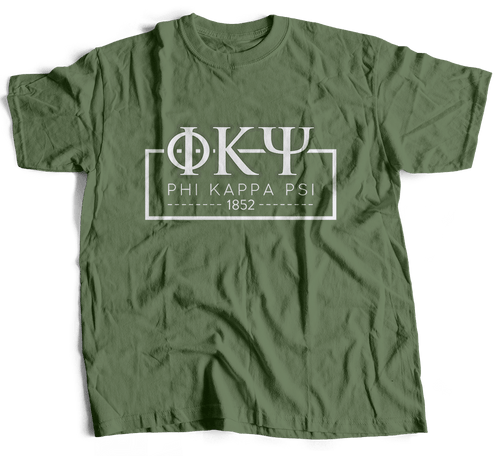 Phi Kappa Psi | Short Sleeve Tee | Ace (393)