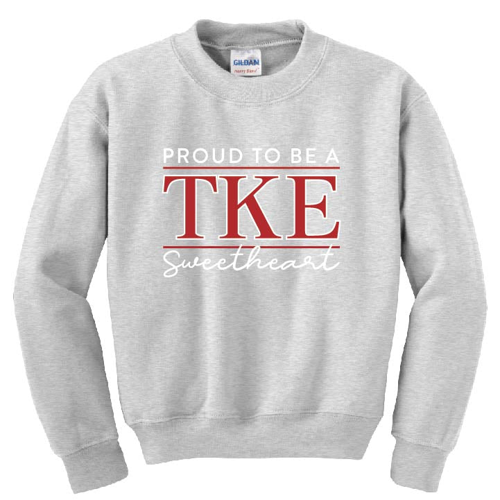 TKE Sweetheart Sweatshirt *Exclusive Limited Offer*