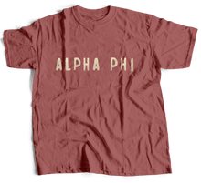 Alpha Phi | Distressed Chino | Sky (421)