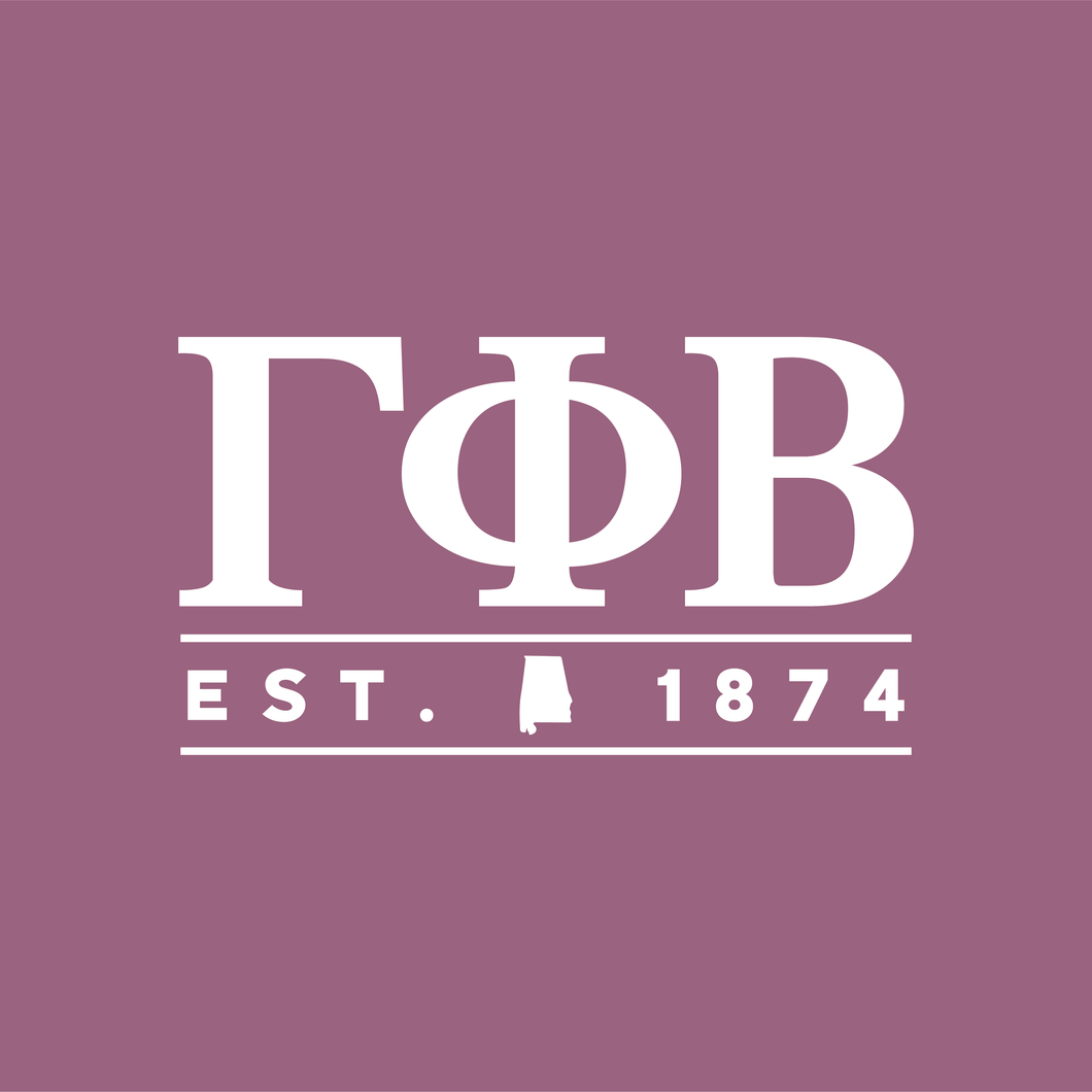 Gamma Phi | Short Sleeve Tee | alabama 541