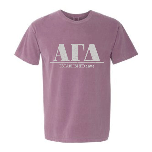 Alpha Gamma Delta | Short Sleeve Tee | Grace (43B)