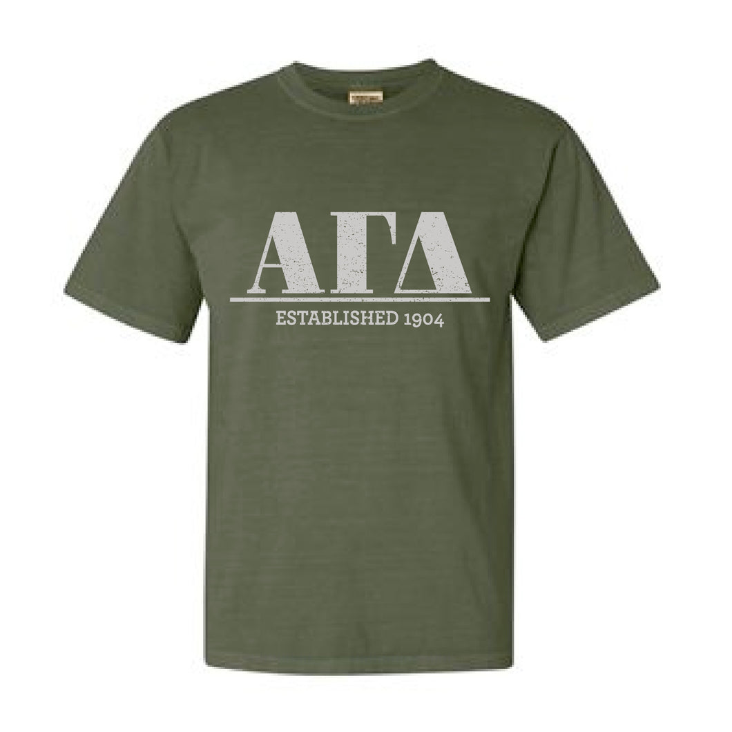 Alpha Gamma Delta | Short Sleeve Tee | Grace (43M)