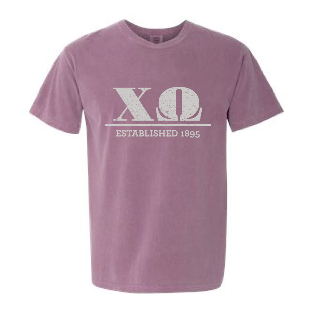 Chi Omega | Short Sleeve Tee | Grace (43B)