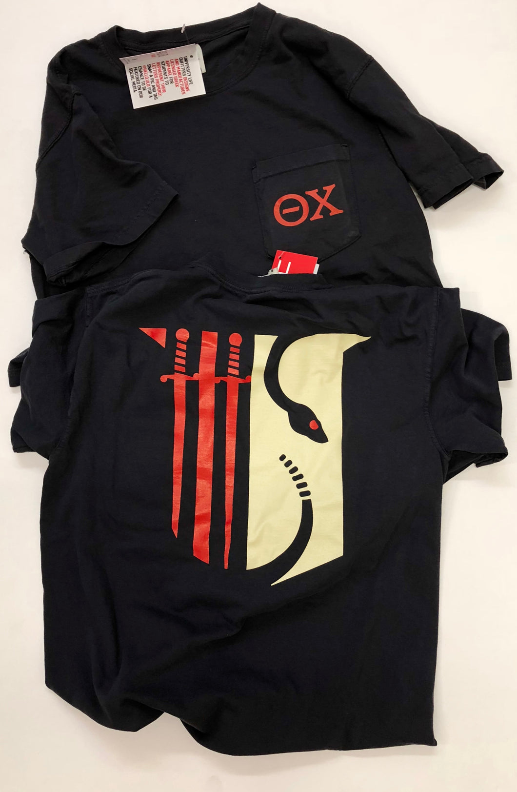 Theta Chi | Short Sleeve Pocket Tee | Cooper (195)