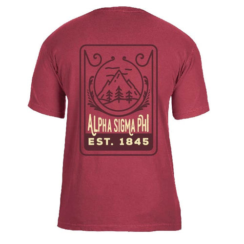 Alpha Sigma Phi | Short Sleeve Pocket Tee | Owen (328)