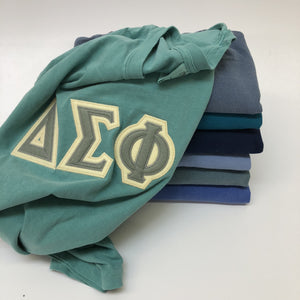 Exam Week Blues Series Stitch | Delta Zeta