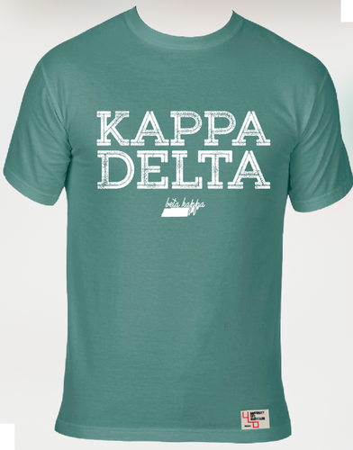 Kappa Delta | Short Sleeve Tee | Madison (527)