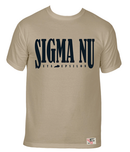 Sigma Nu | Short Sleeve Tee | Kentucky Wesleyan (536)