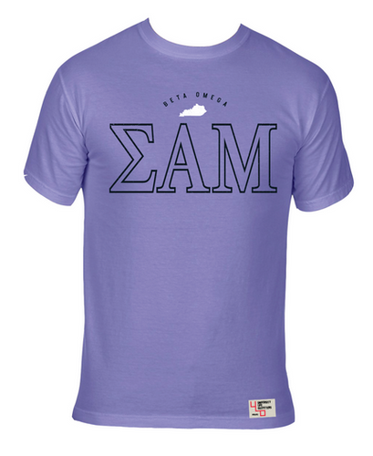 Sigma Alpha Mu | Short Sleeve Tee | Kentucy Wesleyan (538)