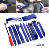 12Pcs Car Door Plastic Trim Diy Tools
