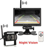 7 Wireless Truck/van/bus Reverse Camera Truck
