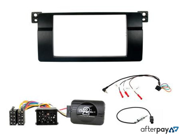 Bmw 3 Series E46 Complete Double Din Cd Fasica