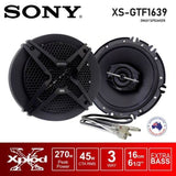 Sony Xs-Gtf1639 6.5 270Watts 3-Way Speakers