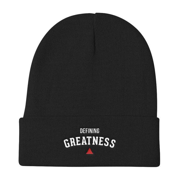 Defining Greatness Knit Beanie