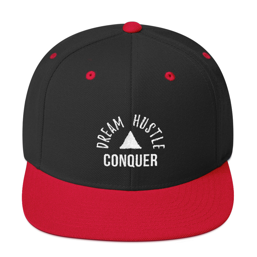Dream Hustle Conquer Snapback Hat