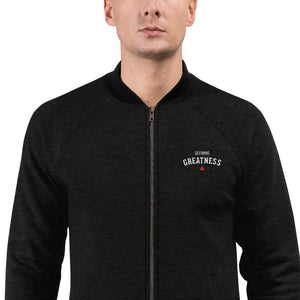 Defining Greatness Embroidered Unisex Bomber Jacket