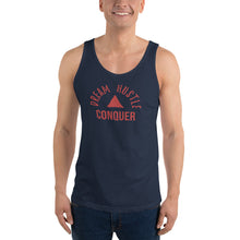 Load image into Gallery viewer, Dream Hustle Conquer Unisex Tank Top
