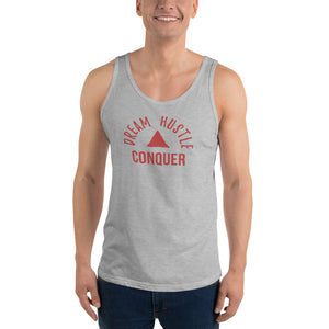Dream Hustle Conquer Unisex Tank Top