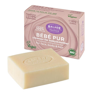 Bébé Pur Bar - Fragrance-free - 80g