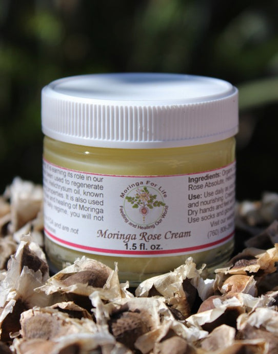 Moringa Seed Oil Rose Cream