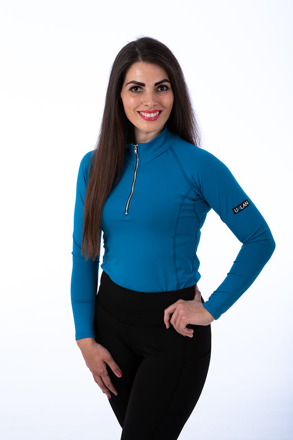 Cerulean Blue Technical Base Layer