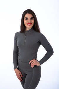 Grey Technical Base Layer