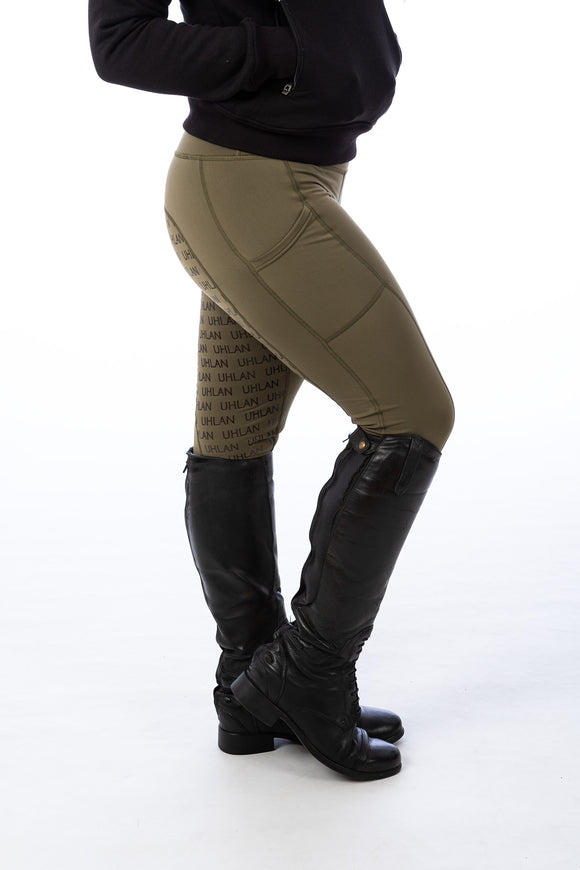 Olive Riding Leggings