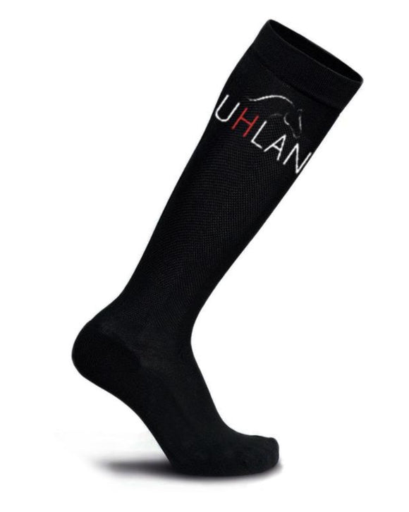 Black Performance Riding Socks