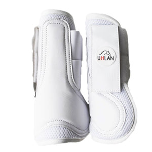 White Airflow Tendon Boots