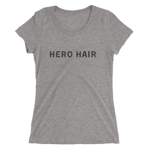 """Hero Hair"" Ladies' short sleeve t-shirt"