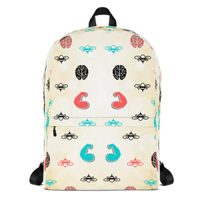 """Bee Strong"" Backpack"