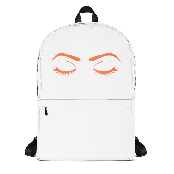 Orange Eyes Backpack