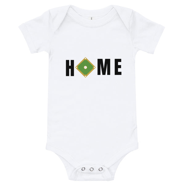 "Baseball ""Home"" Onesie"