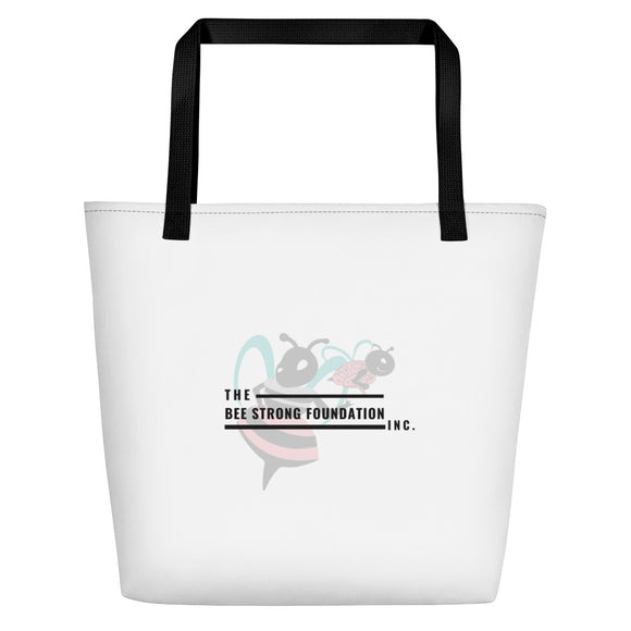 Bee Strong Foundation Beach Bag