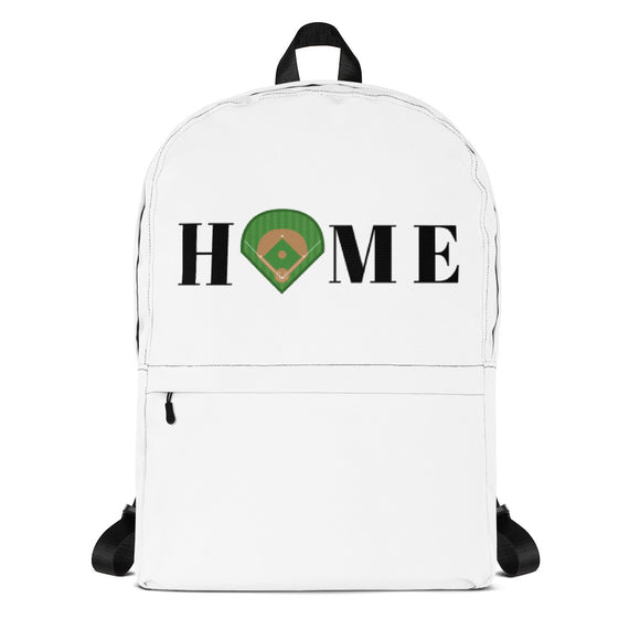 Baseball Home Backpack
