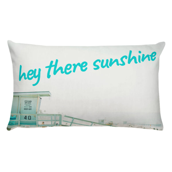 Hey There Sunshine Pillow