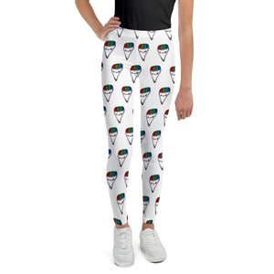 """Jackie Snow Cone"" Youth Leggings"
