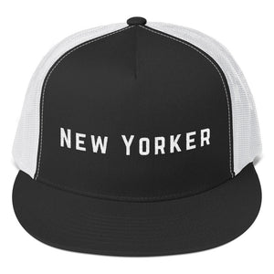 """New Yorker"" Trucker Cap"