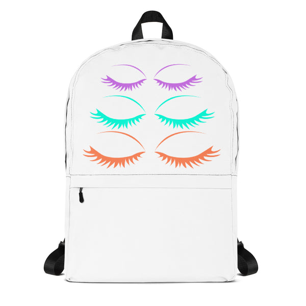 Bright Eyelashes Backpack