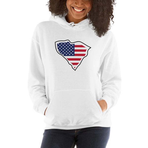 """USA SC"" Hooded Sweatshirt"