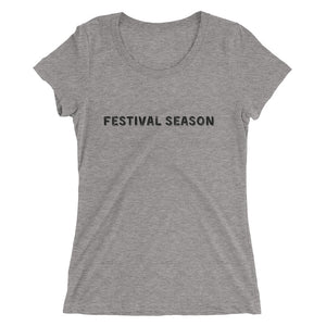 """Festival Season"" Ladies' short sleeve t-shirt"