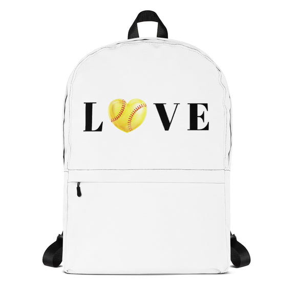 Softball Love Backpack