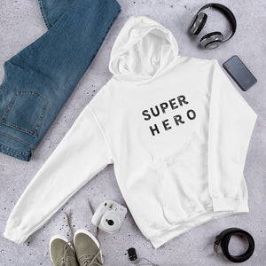 """SuperHero"" Hooded Sweatshirt"