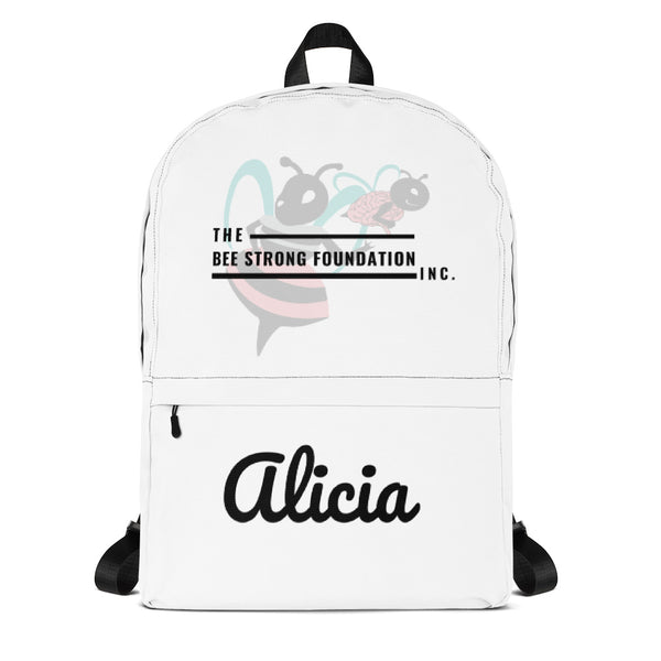 Bee Strong (Alicia) Backpack