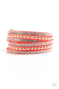 Paparazzi Bracelet-I Bold You So-Orange