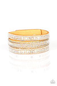 Paparazzi Bracelet-Fashion Fanatic-Yellow