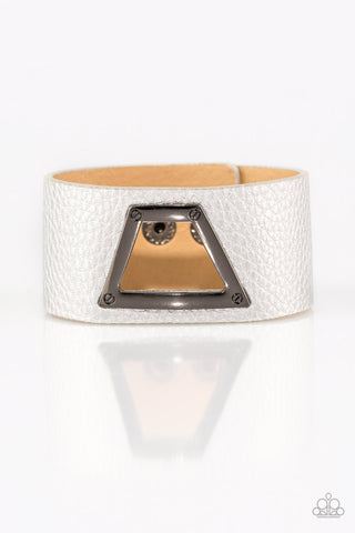 Paparazzi Bracelet-Power Play-Silver