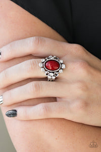 Paparazzi Ring-Noticeably Notable-Red